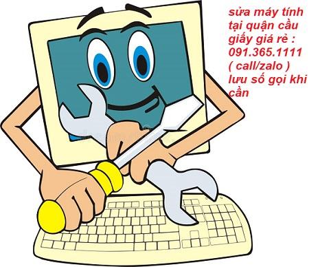sửa máy tính tại quận cầu giấy giá rẻ