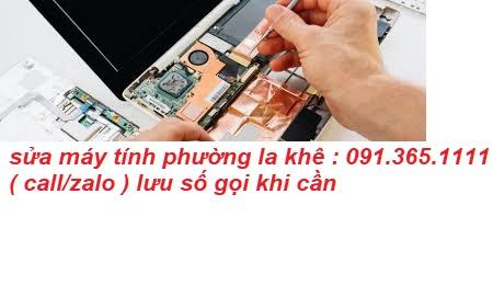 sửa máy tính tại phường la khê uy tín
