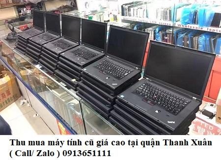 Đối tác thu mua máy tính cũ quận Thanh Xuân uy tín - Máy tính 365