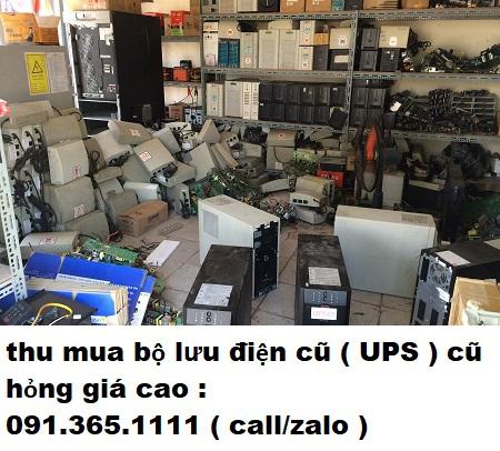 Thu mua UPS cũ hỏng giá cao